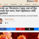 Covid-19: Western Cape out of the woods for now, but vigilance still required