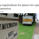 Covid-19 registrations for phase two open amid suspension - The Mail & Guardian