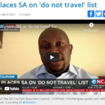 US places SA on 'do not travel' list