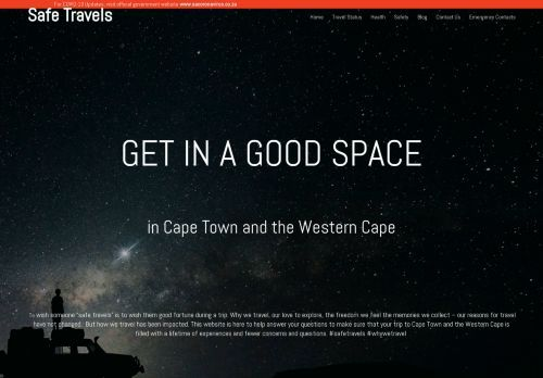 Travel Guide to South Africa - Safe Travels
