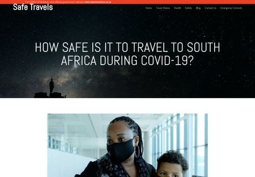How safe is it to travel to South Africa during Covid-19? | Safe Travels