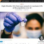 Eight Months: SA's best-case scenario to vaccinate 67%...
