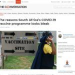 The reasons South Africa's COVID-19 vaccine programme looks bleak
