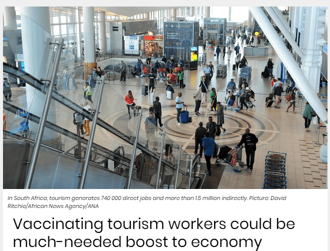 Vaccinating tourism workers could be much-needed boost to economy
